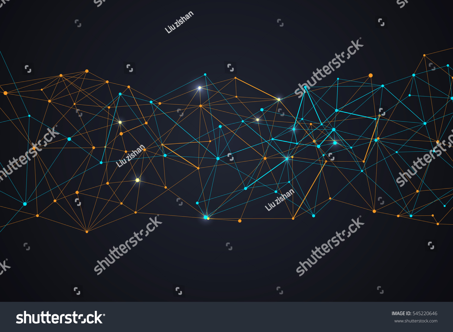 Internet Connection Abstract Sense Of Science And Technology Diagram Graphic Design Vector Illustration Ez Canvas