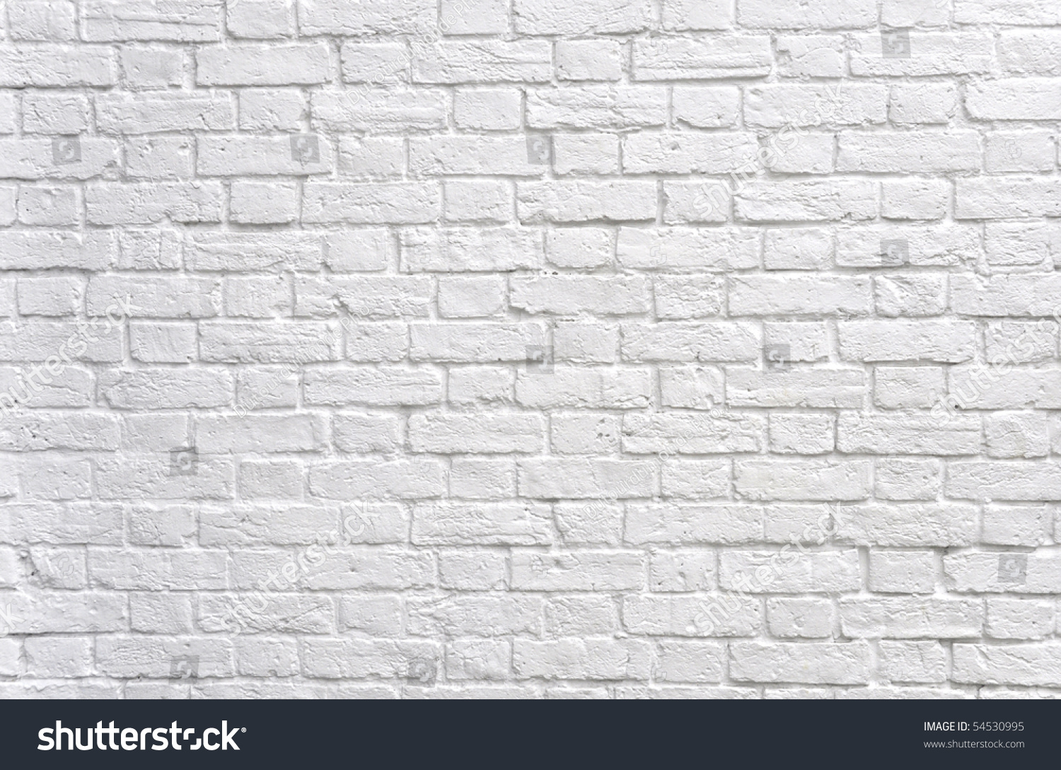 White brick wall stock photo 54530995 shutterstock for White brick wall