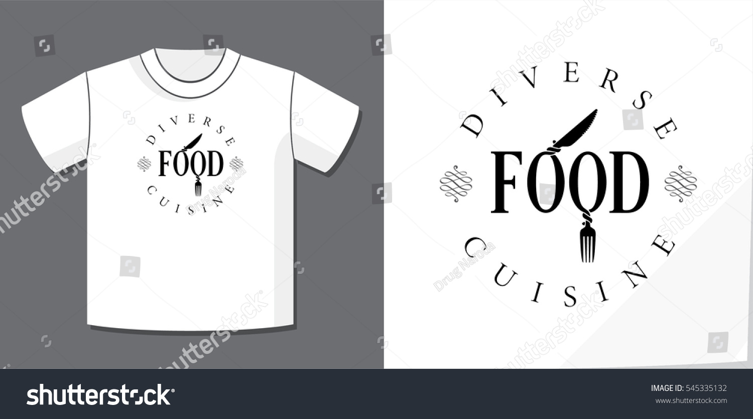 Authentic lettering logo design word food stock vector 545335132 authentic lettering logo design of word food with knife and fork as male and female symbols biocorpaavc Images
