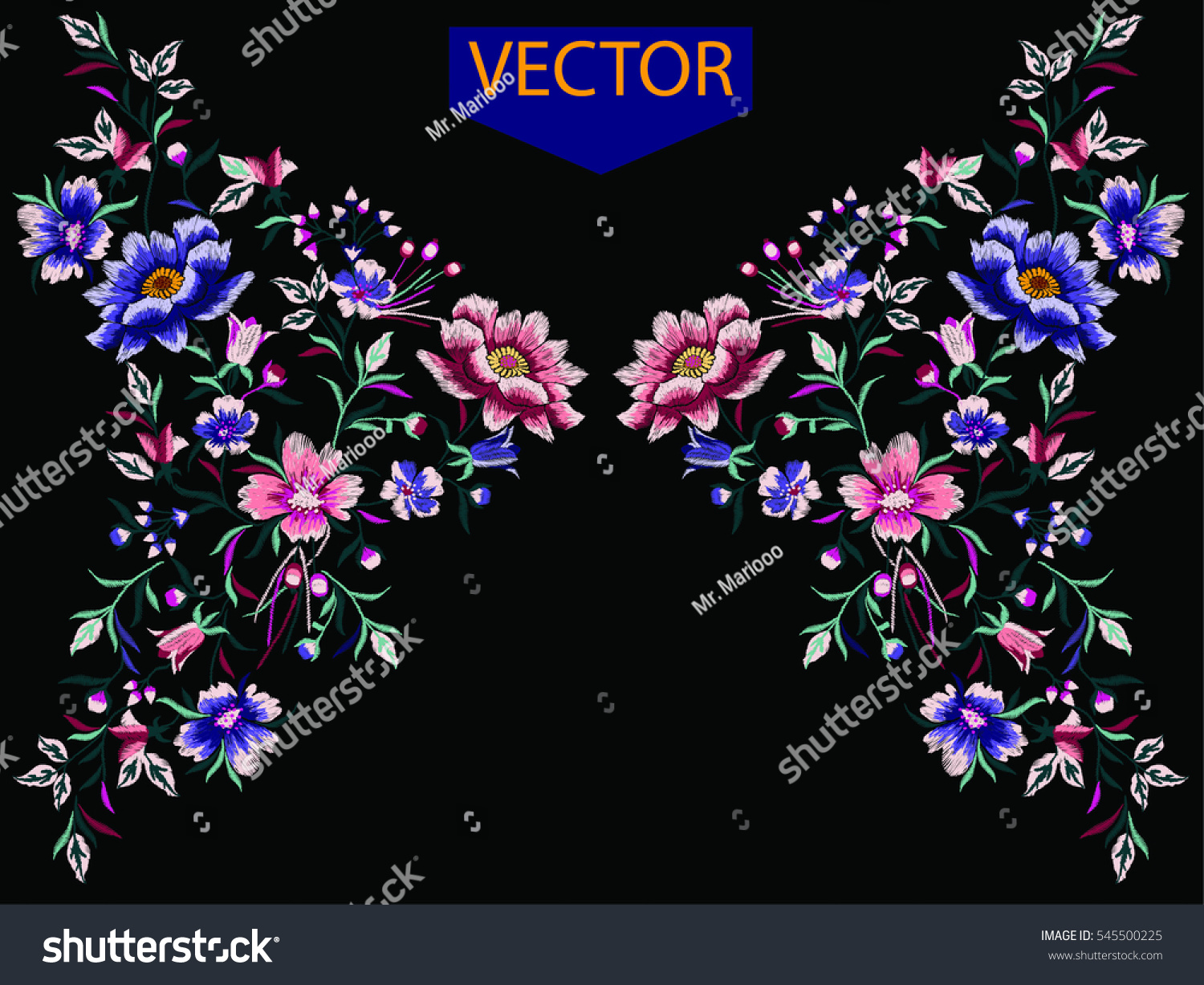 Edit vectors free online embroidery ethnic Online vector editor