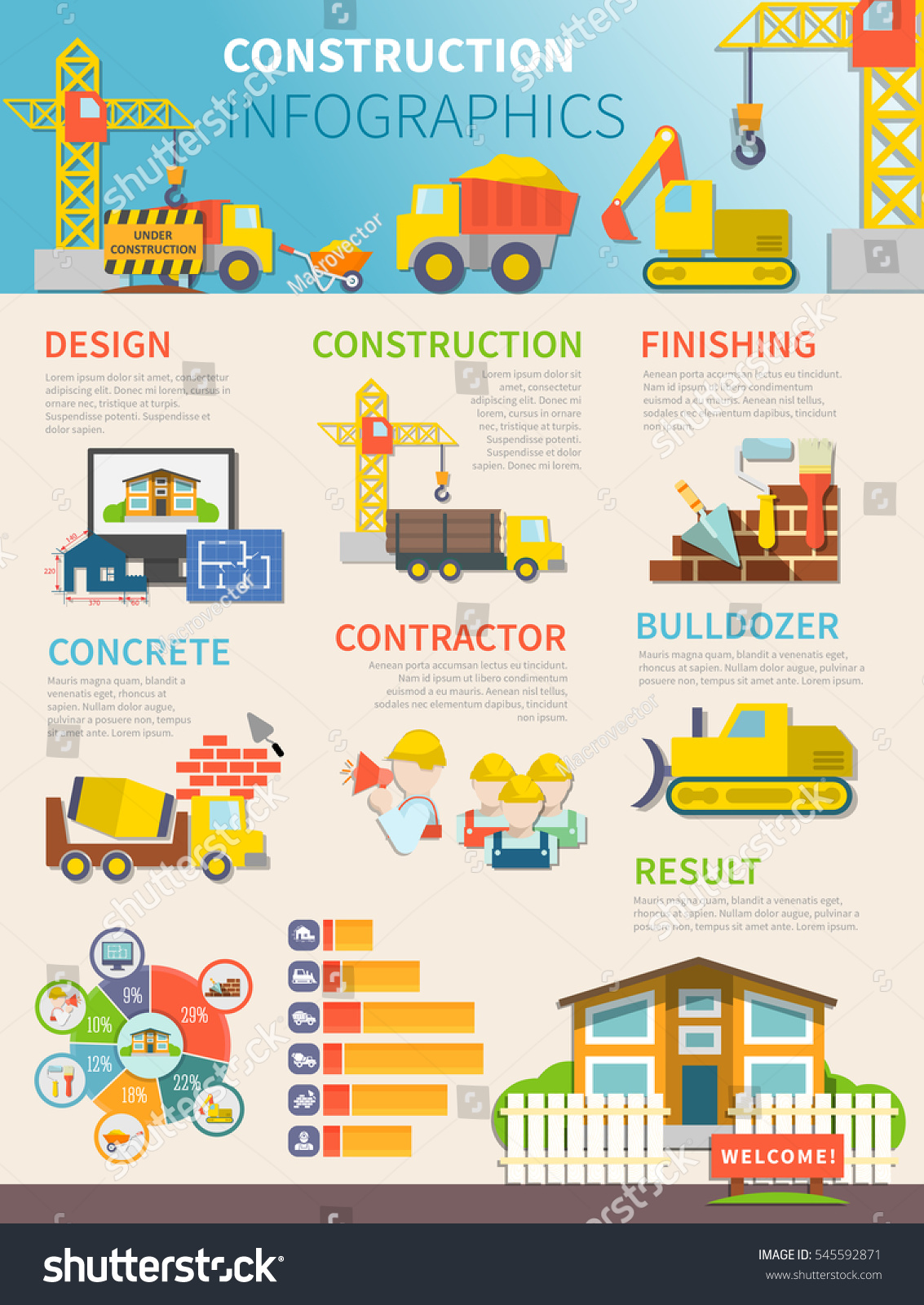 Infographic builder tools