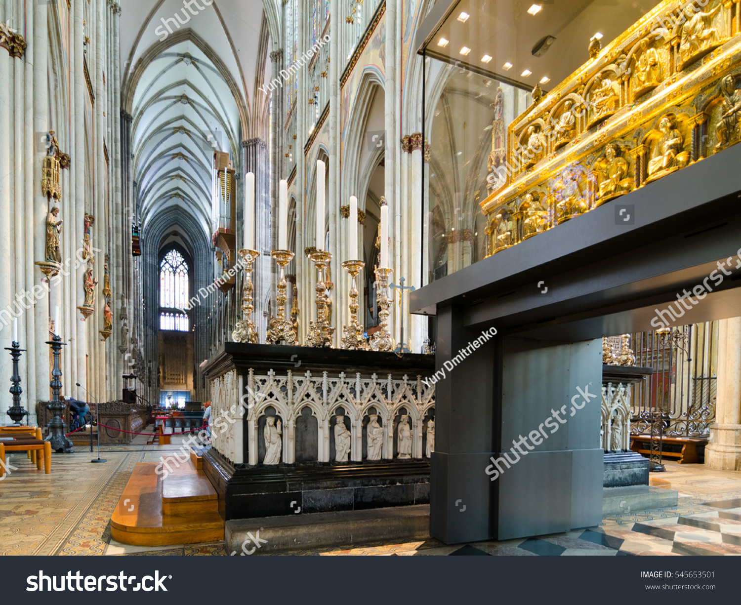 Cologne Germany September 17 2015 Interior Stock Photo