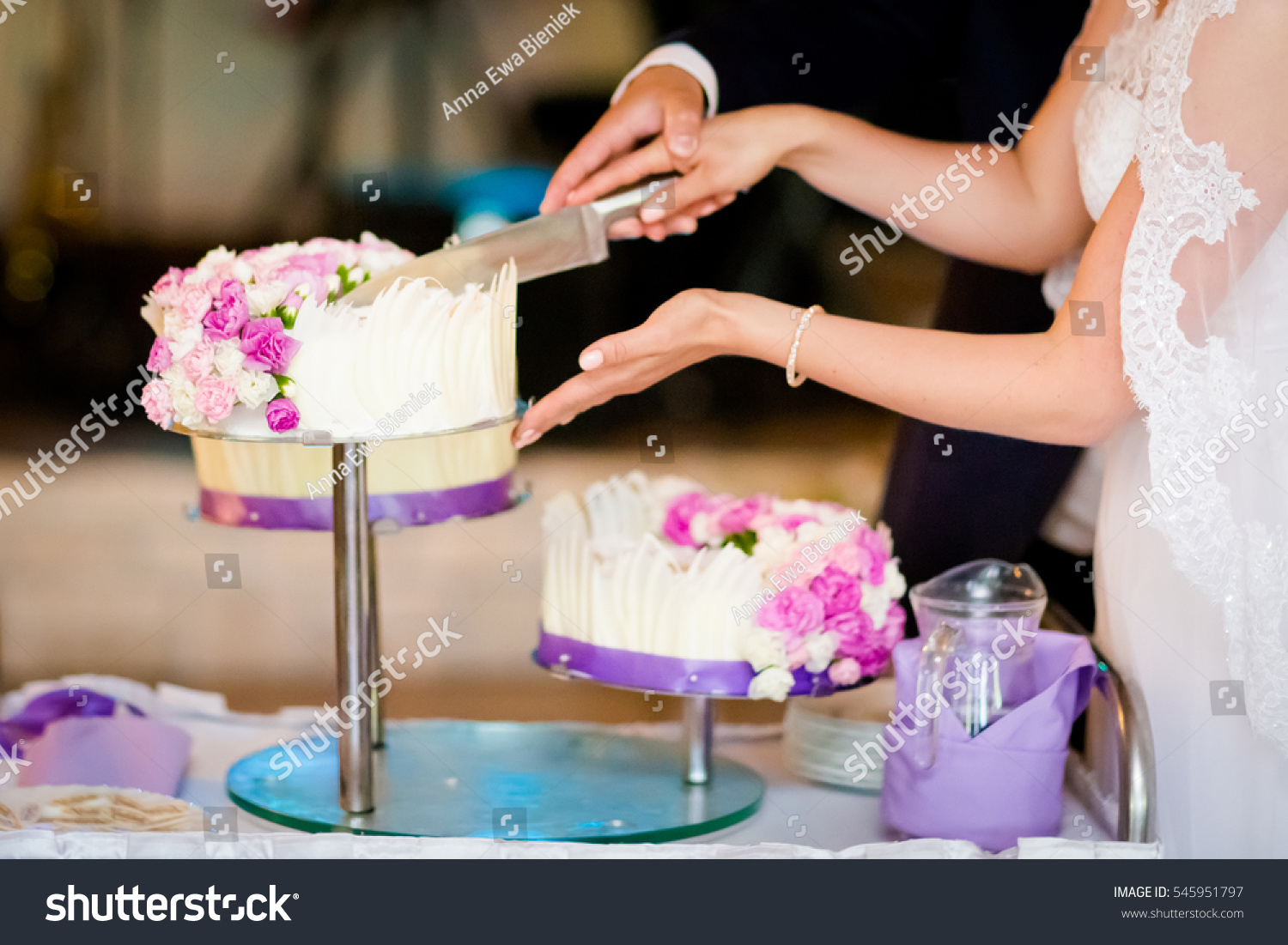 tradition behind wedding cake cutting beautiful wedding cake detail traditional stock 21221