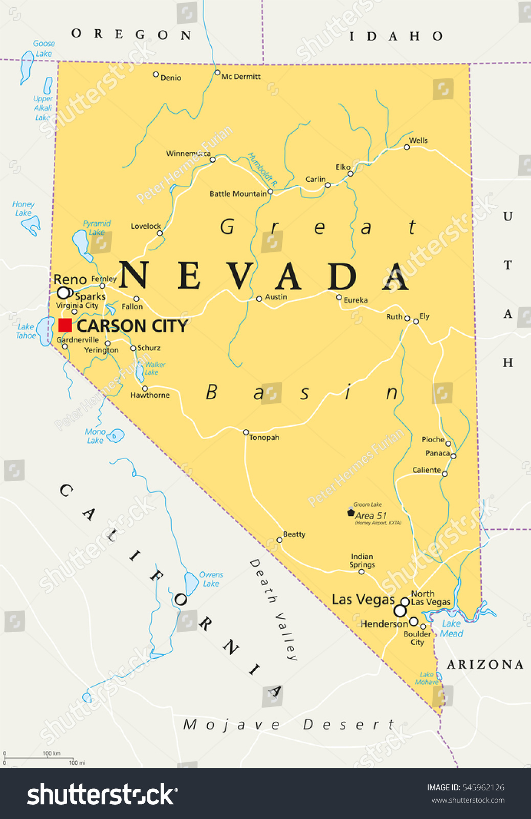 Nevada Maps Las Vegas Nevada Maps Official Site