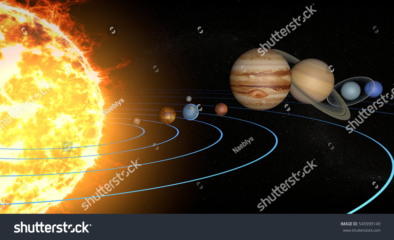 solar system orbits 3d - photo #27