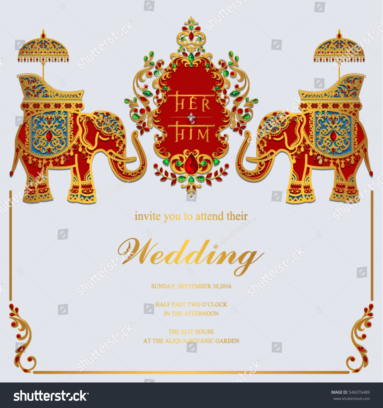 Indian Wedding Invitation Card Templates Gold Stock Vector Royalty Free 546076489 We provide millions of free to download high definition png images. https www shutterstock com image vector indian wedding invitation card templates gold 546076489