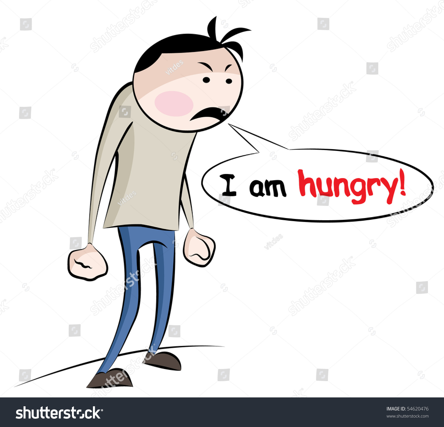 a hungry man is an angry man essay