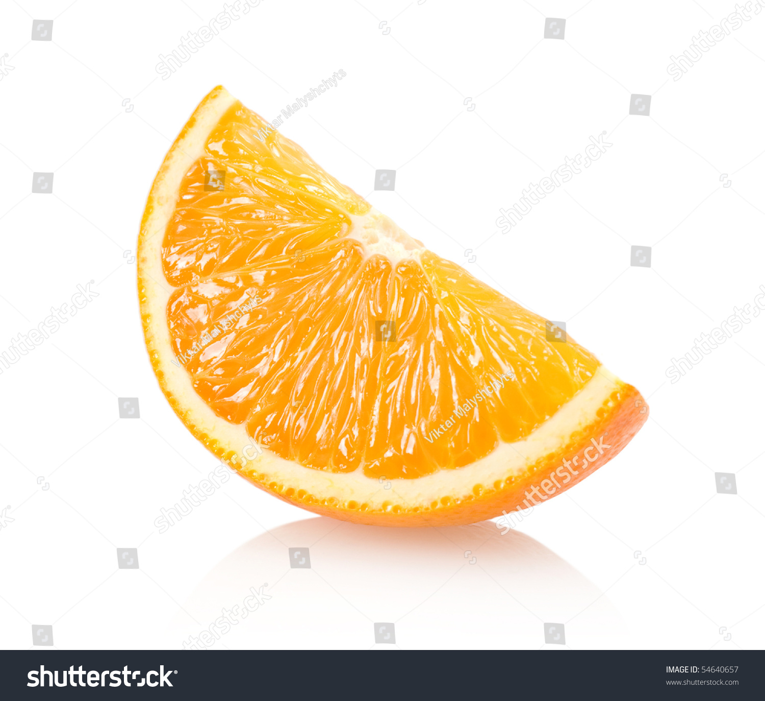 Orange Slice Stock Photo 54640657 - Shutterstock