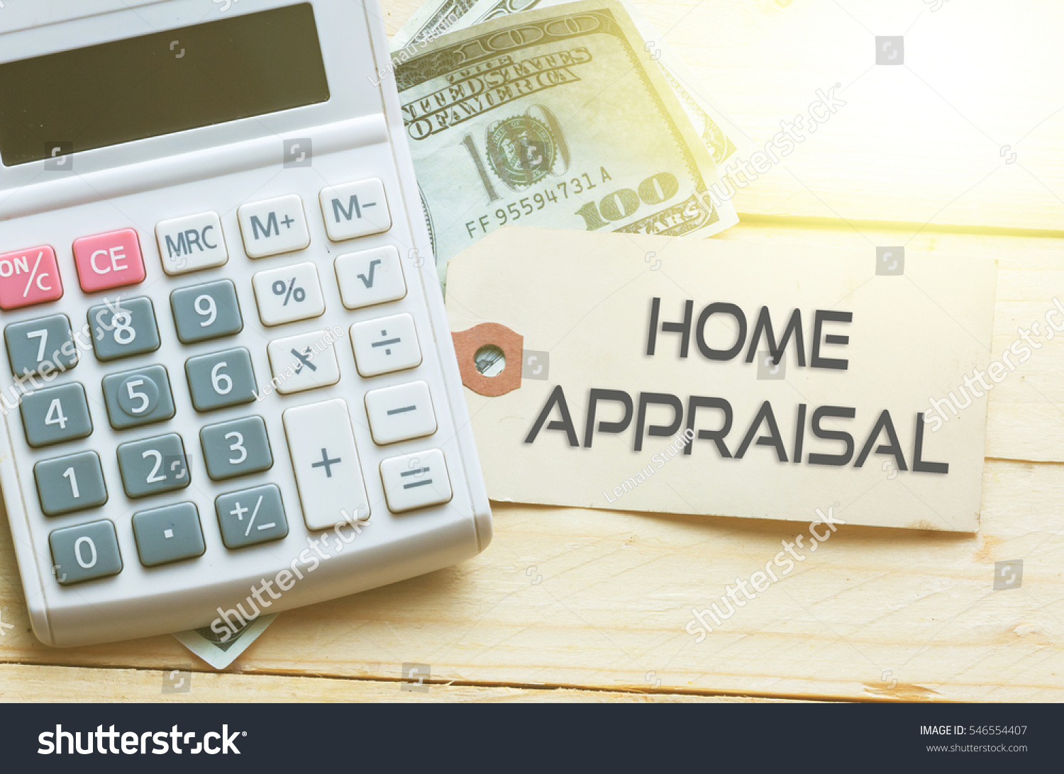 HOME APPRAISAL Words On Tag Dollar Stock Photo & Image (Royalty-Free ...