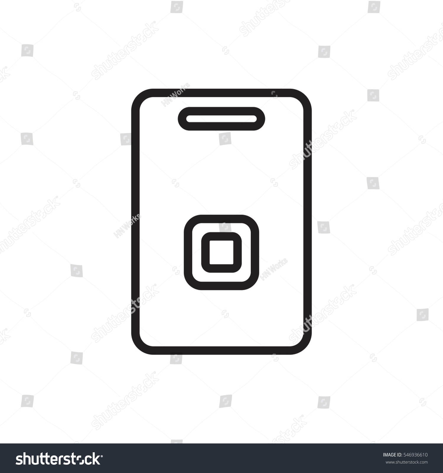 door ringer icon illustration isolated vector  sc 1 st  Shutterstock & Door Ringer Icon Illustration Isolated Vector Stock Vector ...