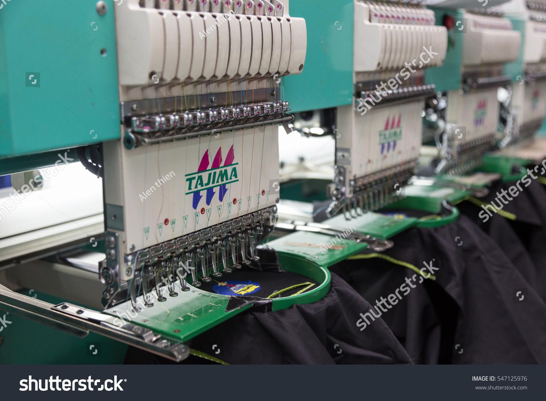 Kota Kinabalu Sabah Malaysia November 02 Stock Photo Edit Now Circuit Board Printed Control For Embroidery Machine 2016 On T