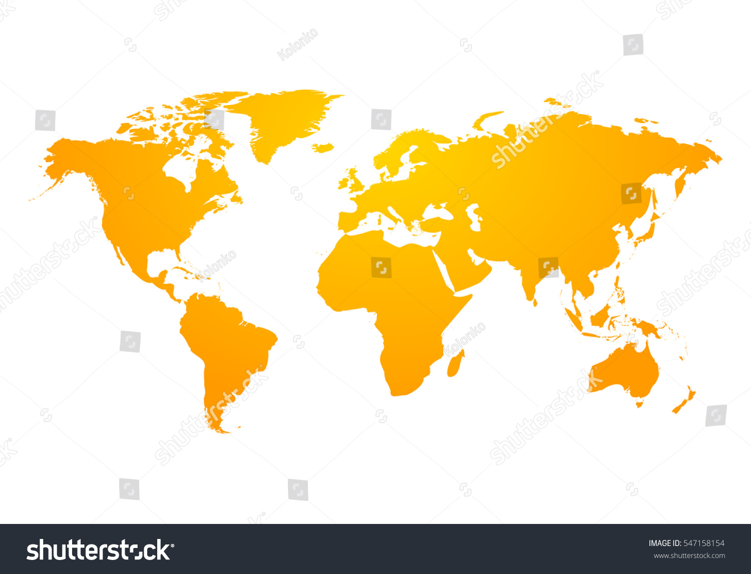 Vector world map global earth icon stock vector 547158154 vector world map global earth icon america asia australia africa usa gumiabroncs Images