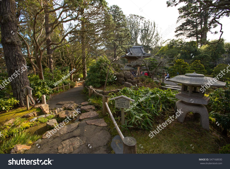 Stone lantern in Kenrokuen garden in Kanazawa, Japan. | EZ Canvas