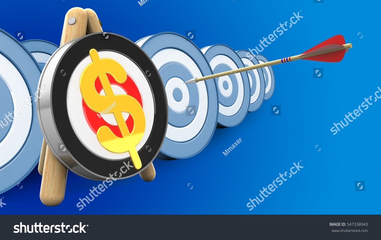 Royalty Free Stock Illustration of 3 D Illustration Archery