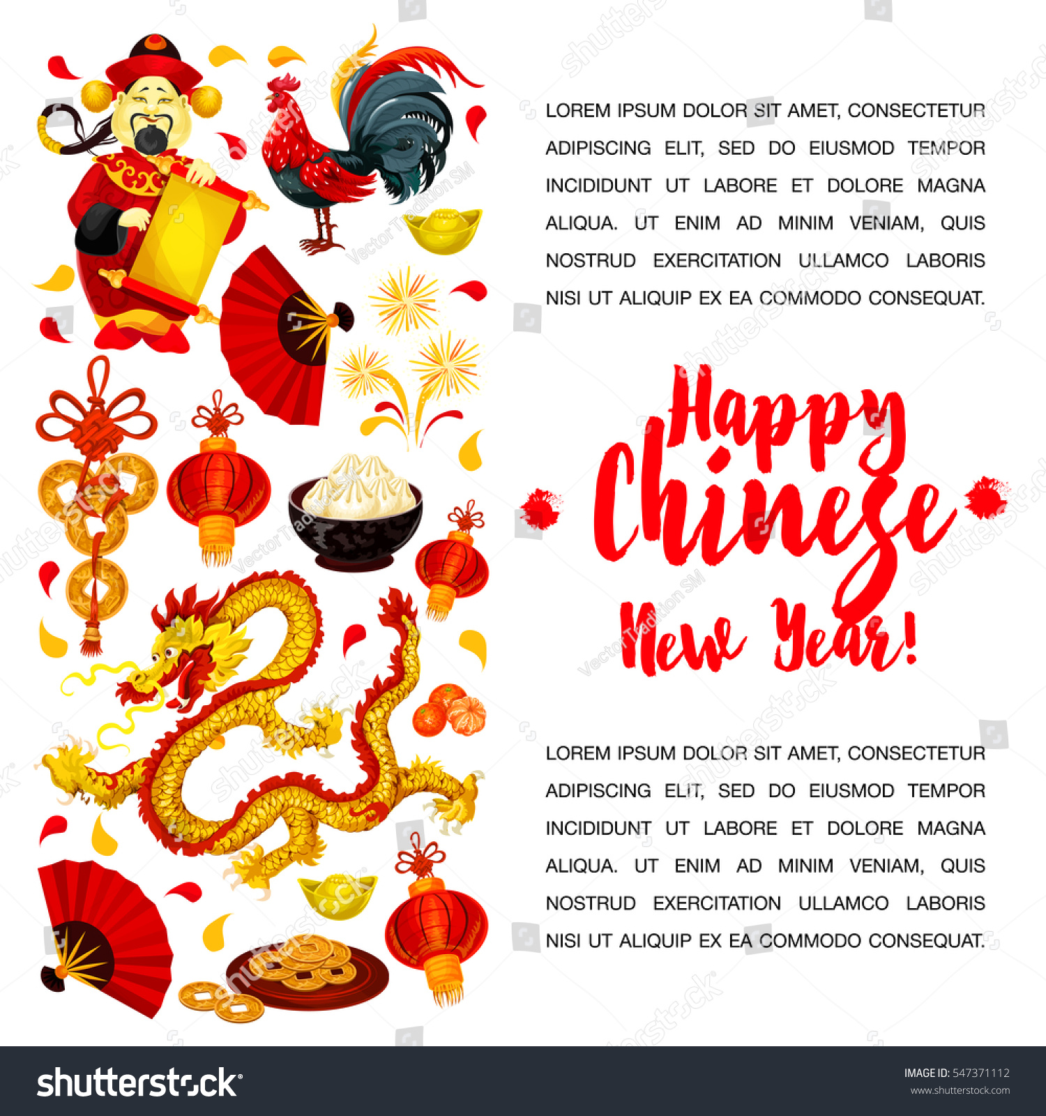 how to write happy chinese new year in mandarin
