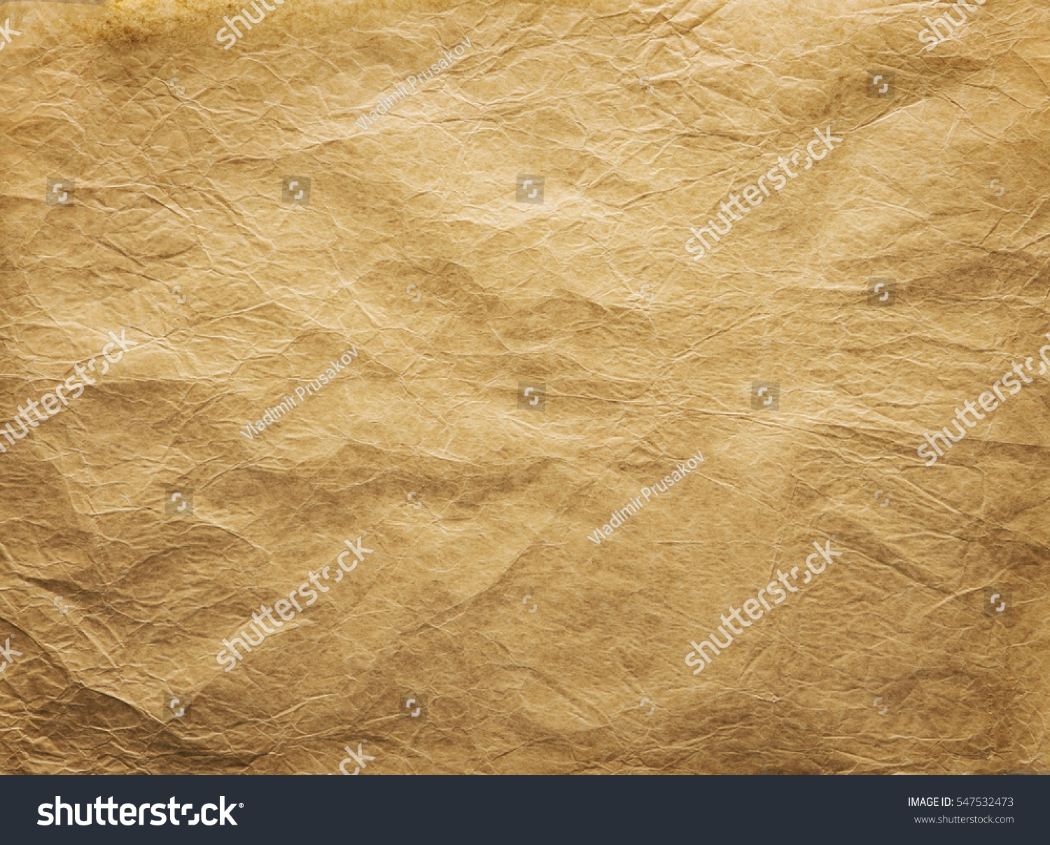 2a1bd9c632d5 Old Wrinkled Paper Background Papers Folds Stock Photo (Edit Now ...