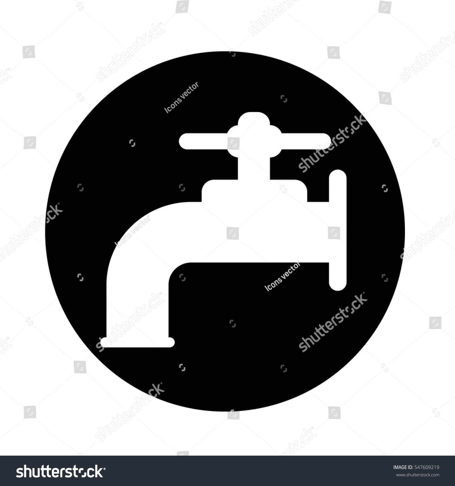 Faucet Icon Stock Vector (Royalty Free) 547609219 - Shutterstock