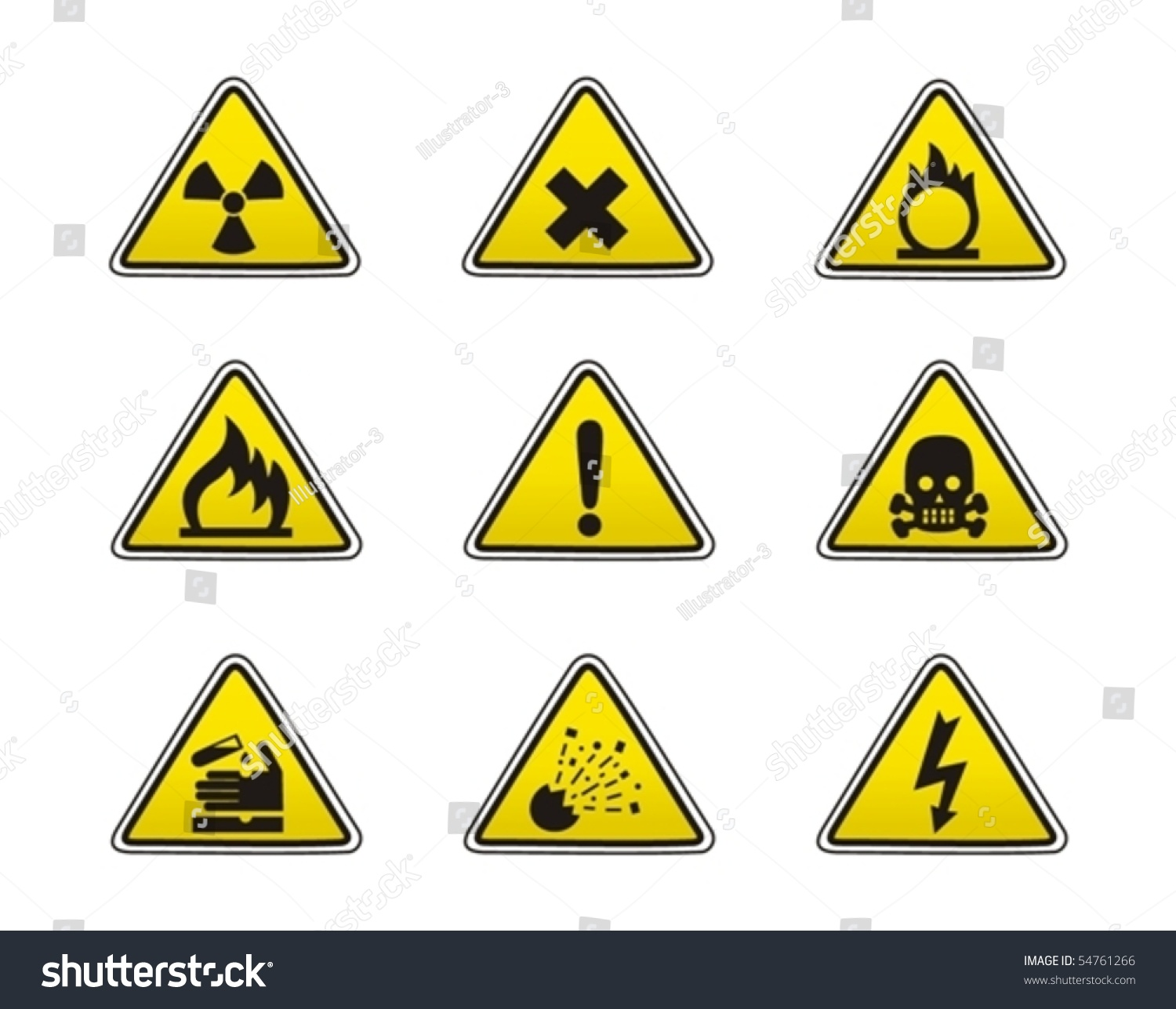 Safety Icon Stock Vector 54761266 - Shutterstock