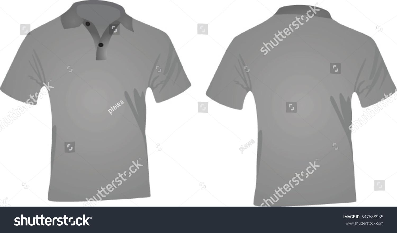Black t shirt vector - Polo T Shirt Vector