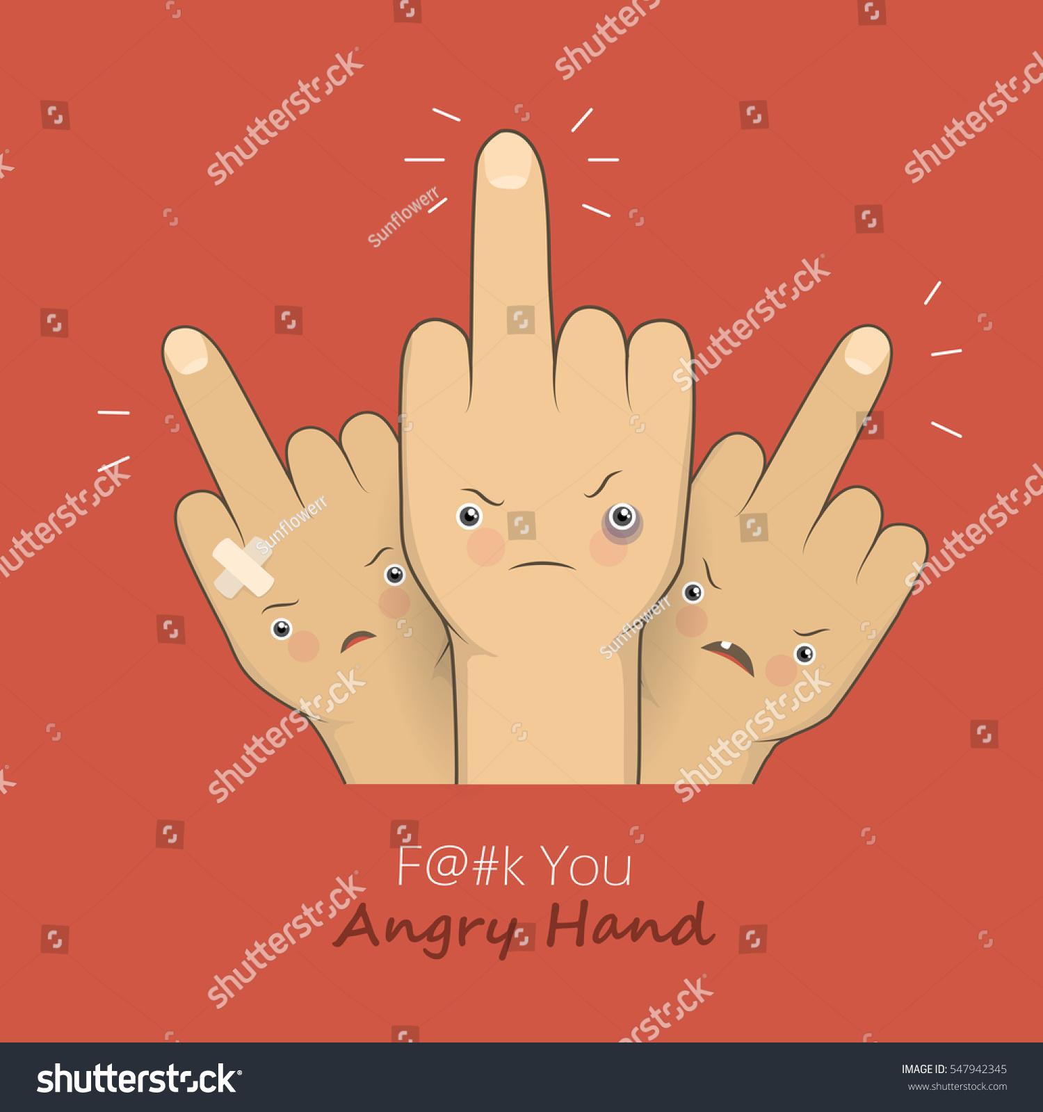 Cartoon middle finger angry emotion faces stock illustration cartoon middle finger with angry emotion faces provocation gesture symbol expression rudeness concept illustration buycottarizona