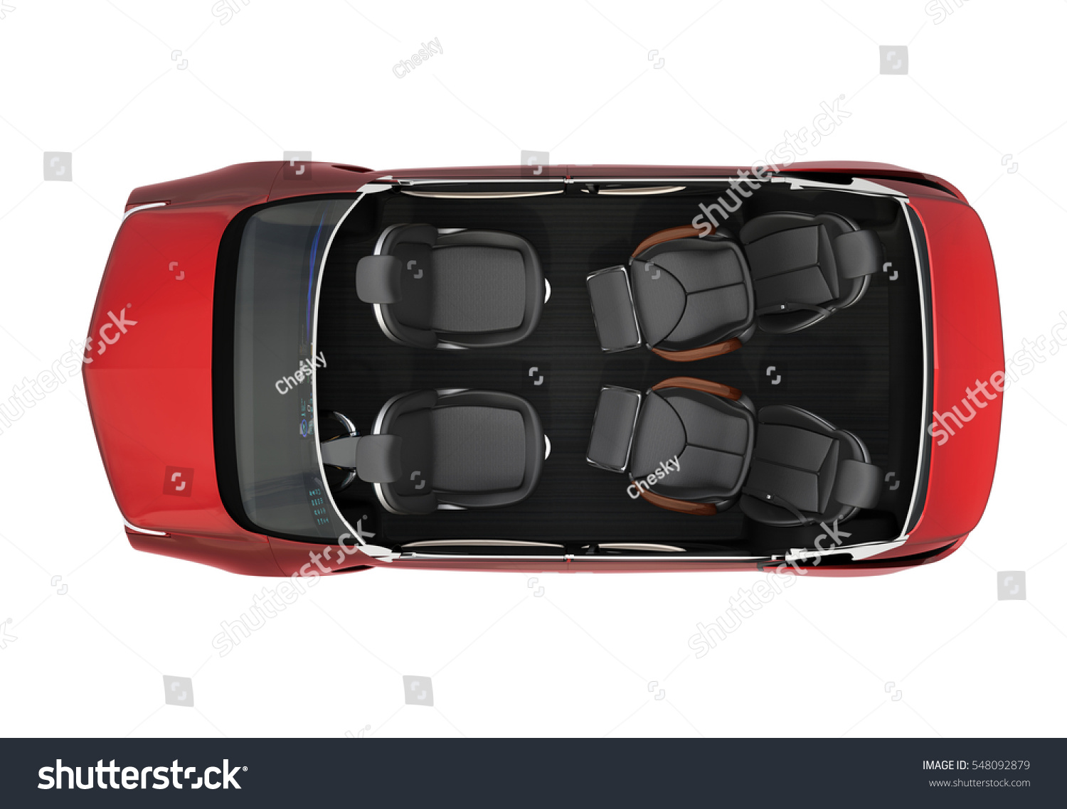 top view autonomous car cutaway image stock illustration 548092879 shutterstock. Black Bedroom Furniture Sets. Home Design Ideas