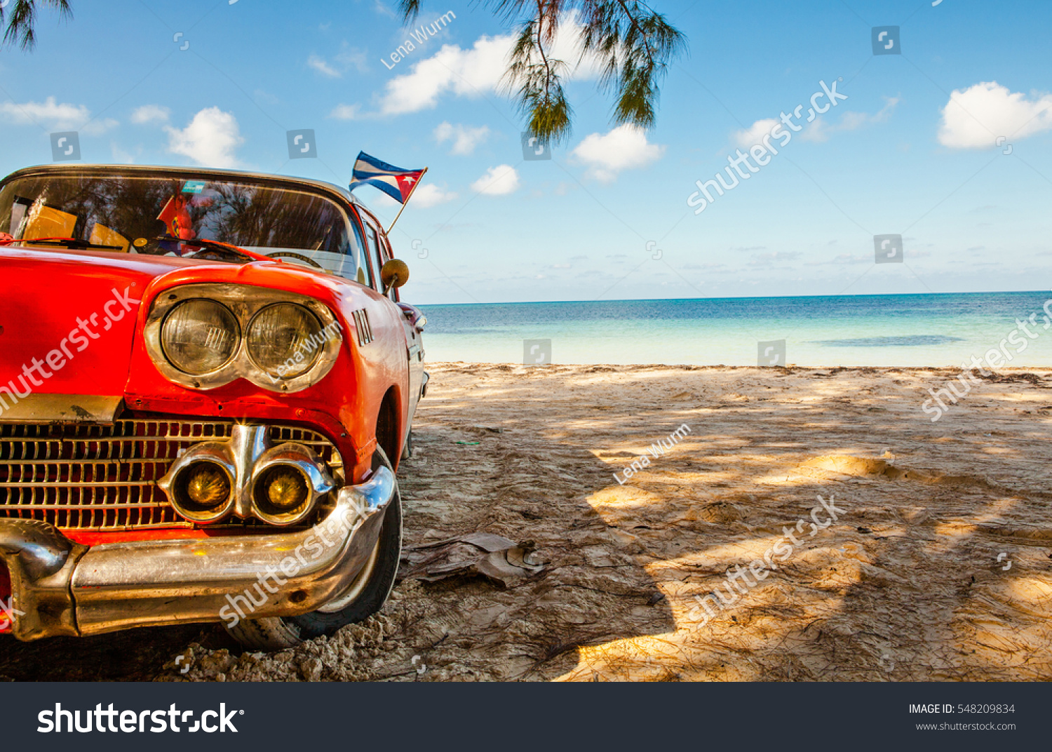 American classic car on beach cayo stock photo 548209834 for Classic american images