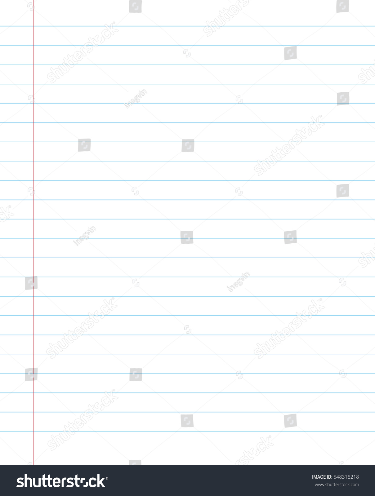 Blank Lined Paper Texture Notepad Vector 548315218 – Lined Blank Paper