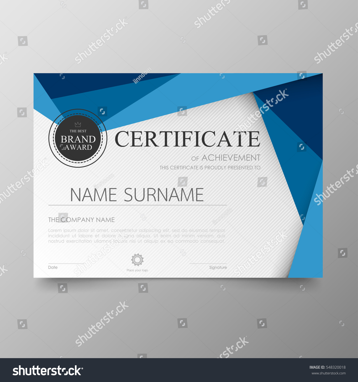 Online Certificate Templates