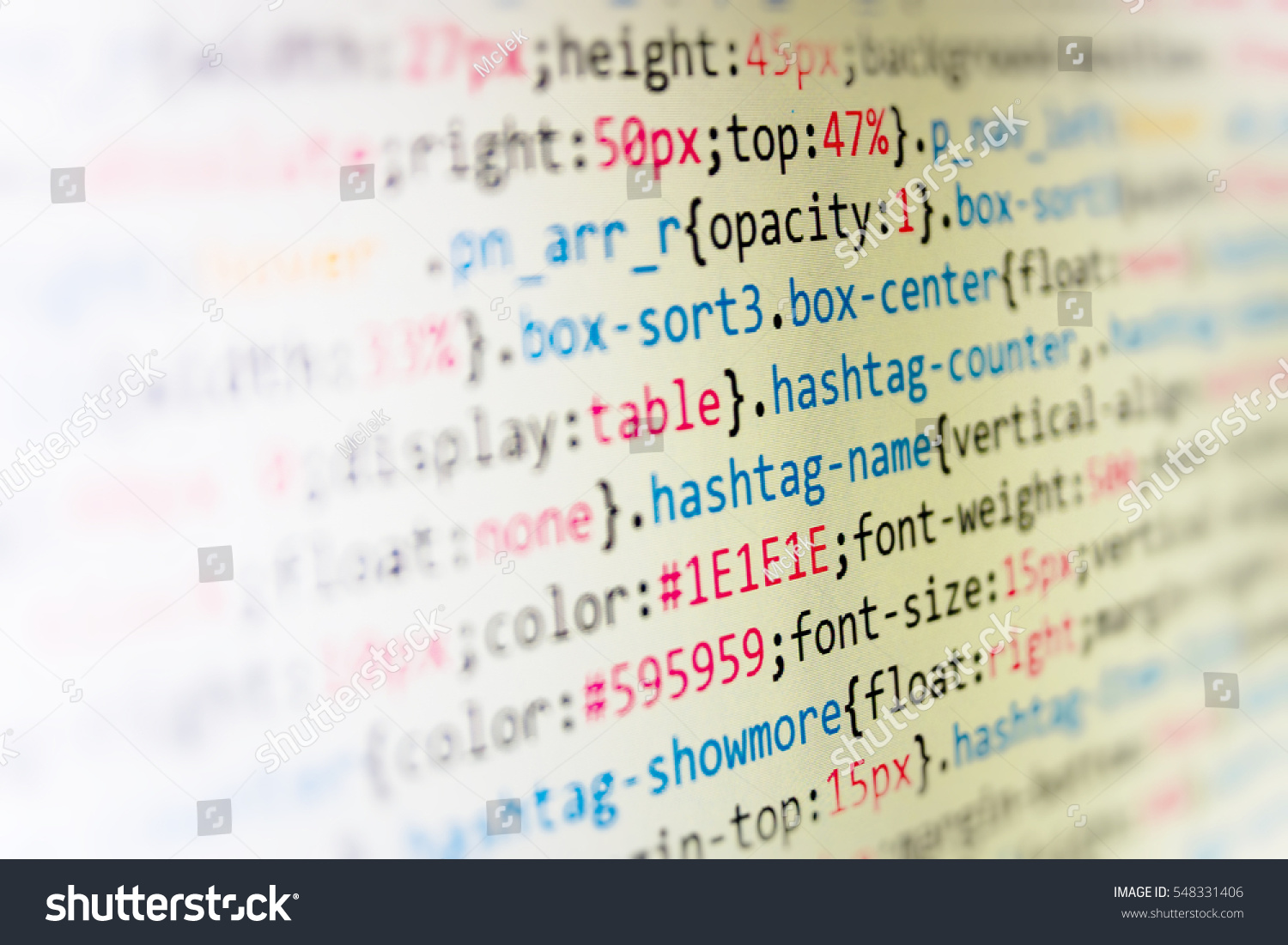 Css Javascript Html Usage Business Seo Stock Photo (Edit Now