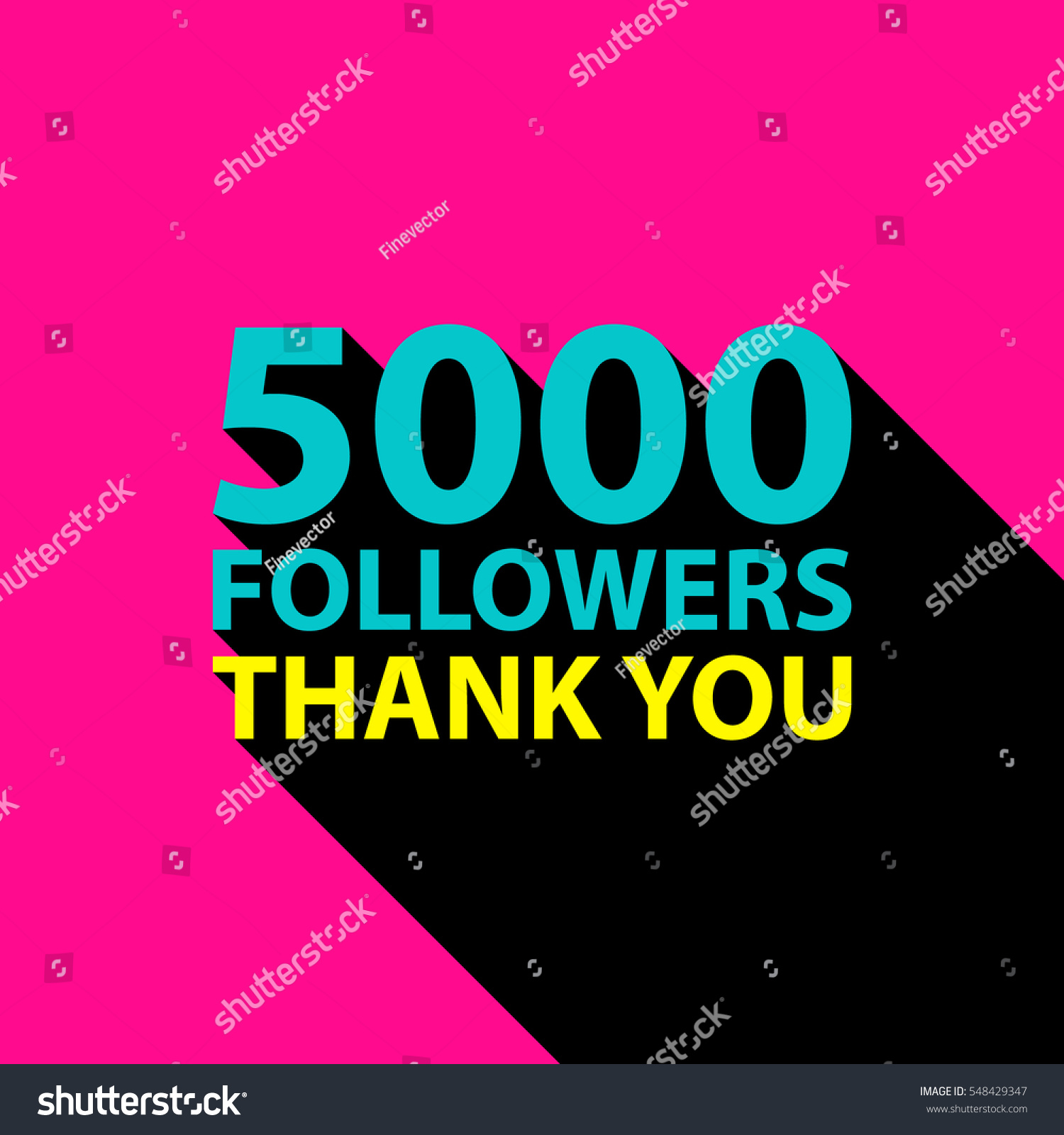 5000 followers thank you card template stock vector 548429347 5000 followers thank you card template stock vector 548429347 shutterstock pronofoot35fo Images