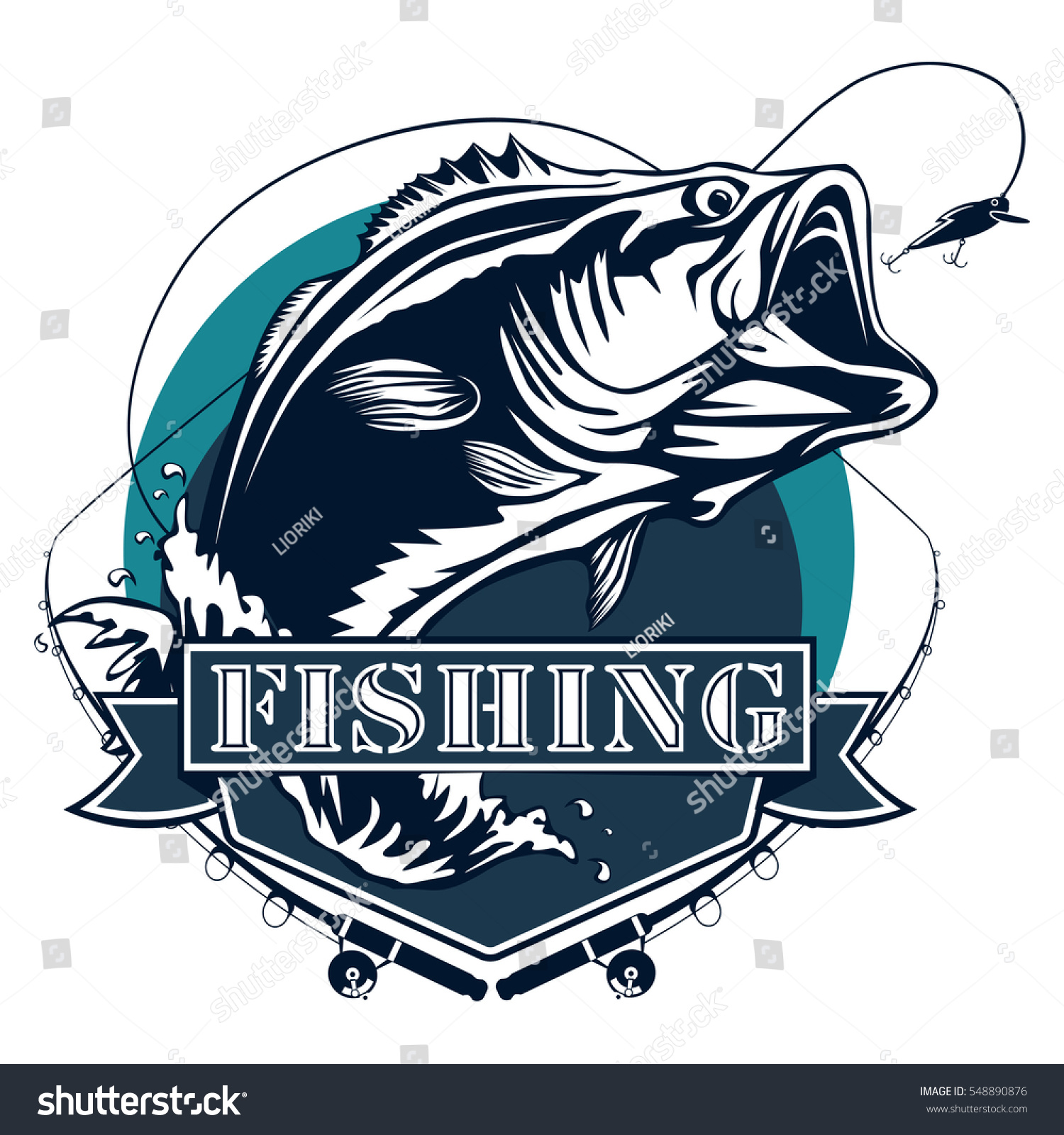 bass fishing logo isolated on white stock vector 548890876 shutterstock walleye clip art free downloads microsoft walleye clip art free downloads microsoft