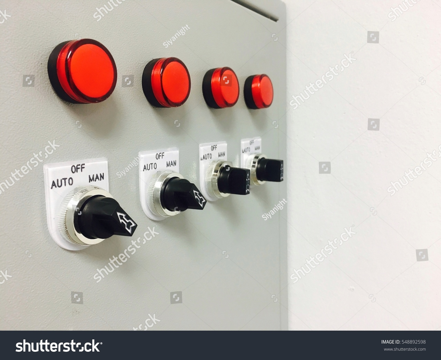 Fuse Box Buttons Wire Center Reset Switch On Server Stock Photo Royalty Free Rh Shutterstock Com Mini Household Fuses