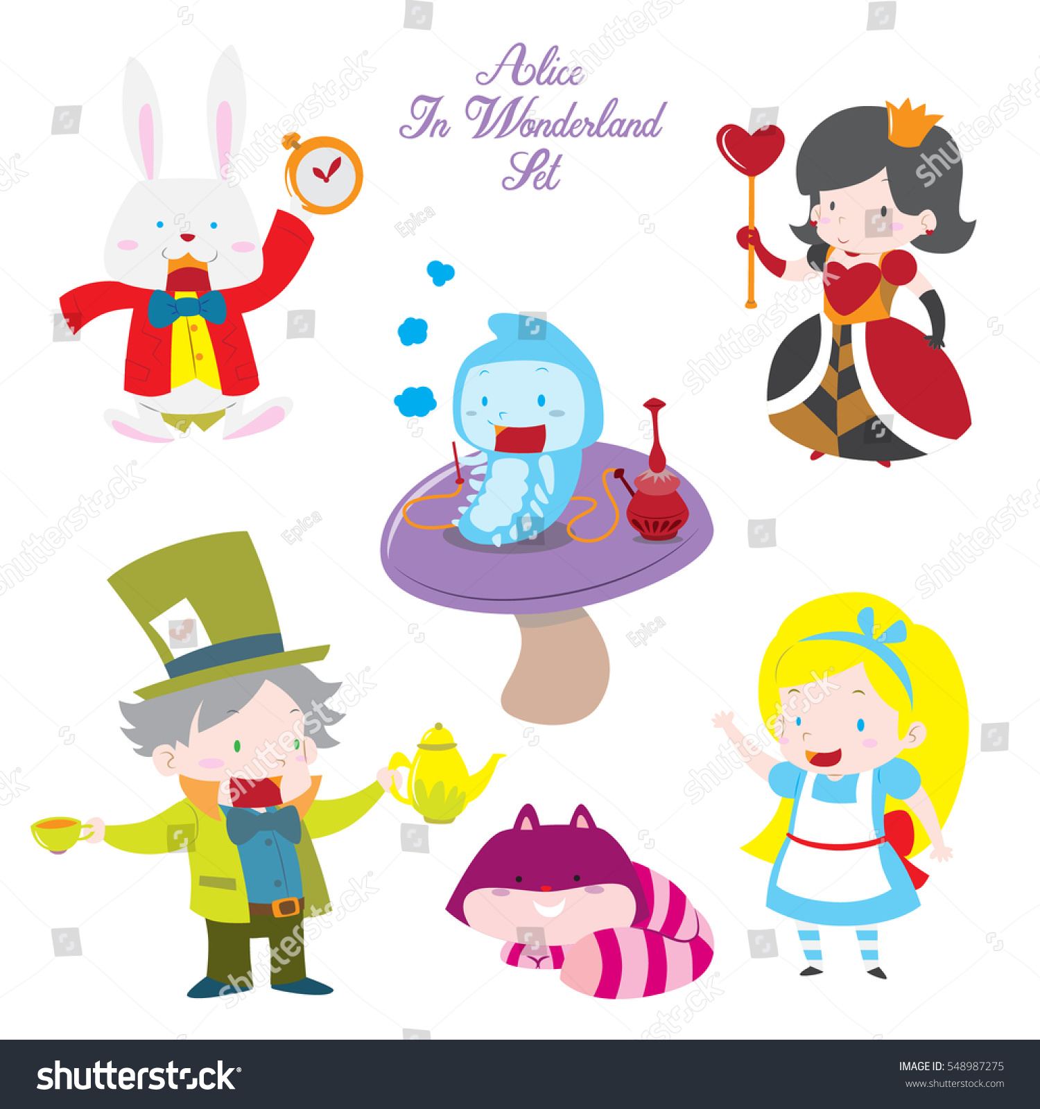 Alice In Wonderland Story Characters
