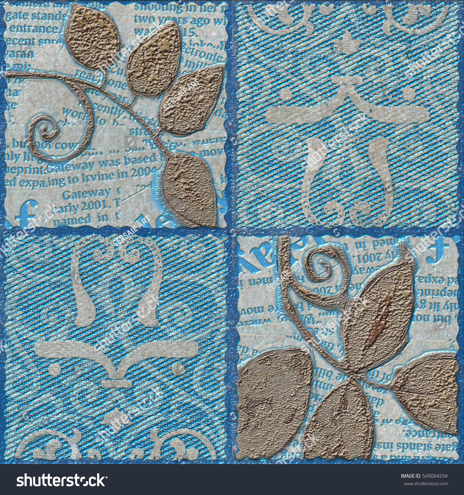 Wall Tiles Design Stock Photo (Edit Now) 549004294 - Shutterstock