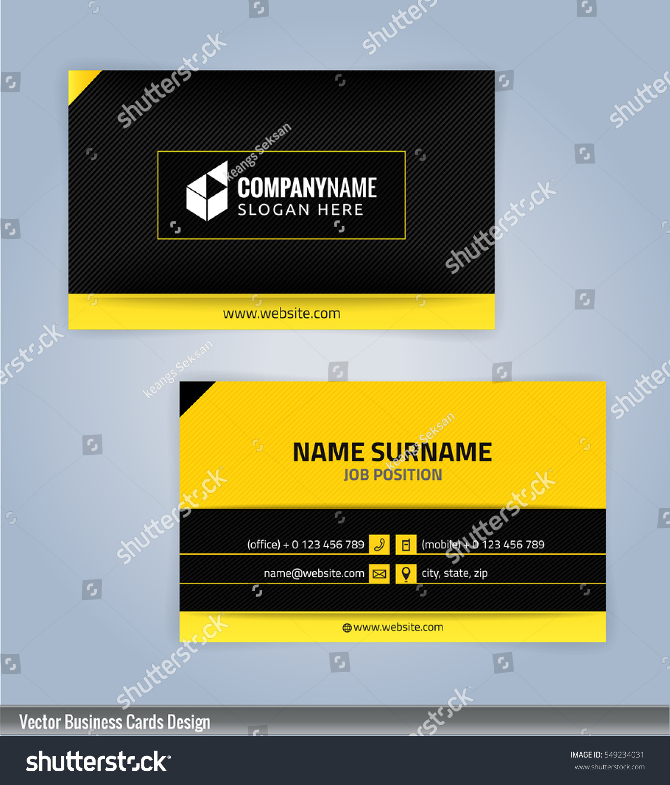 business card templates for designing your own cards 50 free
