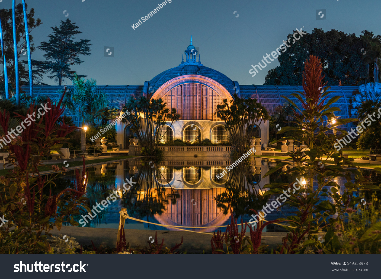 Balboa Park Botanical Building San Diego Stock Photo (Edit Now ...