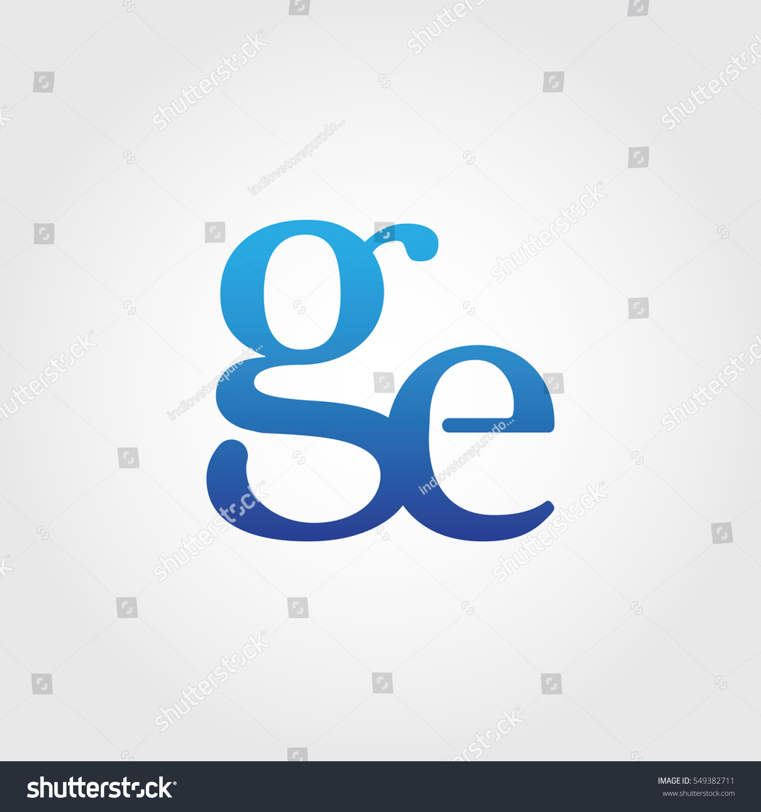 Lowercase ge logotype blue letter logo stock vector 549382711 lowercase ge logotype blue letter logo letter abbreviations vector template element biocorpaavc Gallery