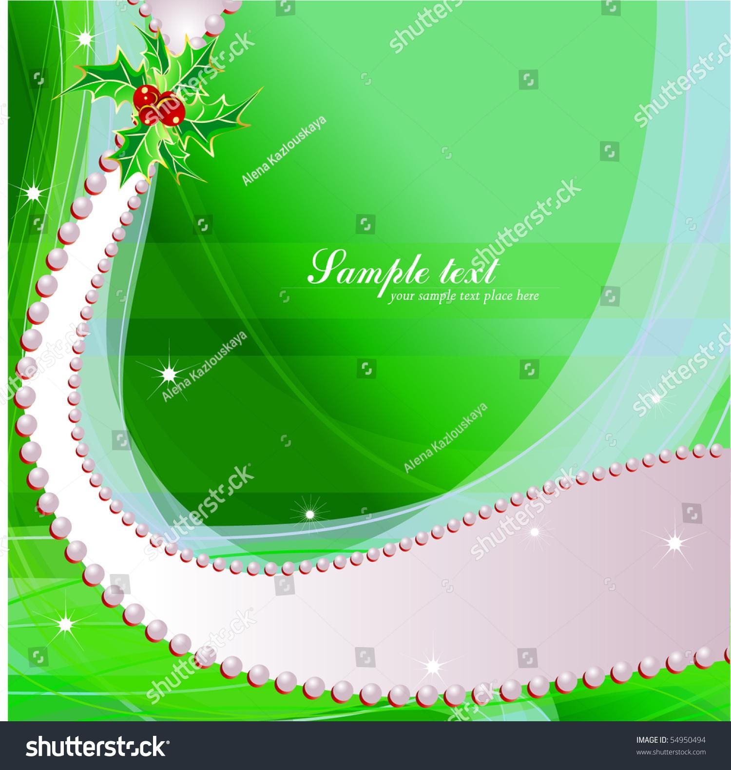 vector christmas amp newyears greeting card 54950494