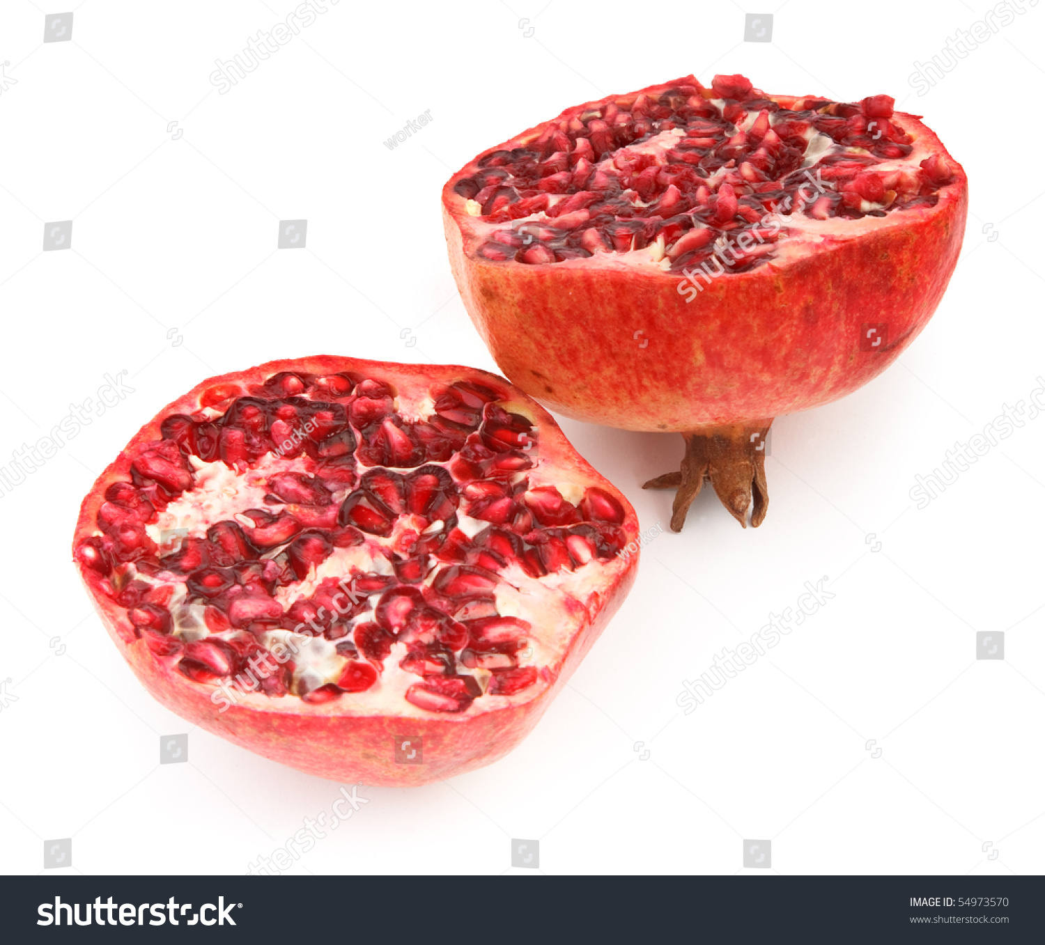 how to cut pomegranate fruit