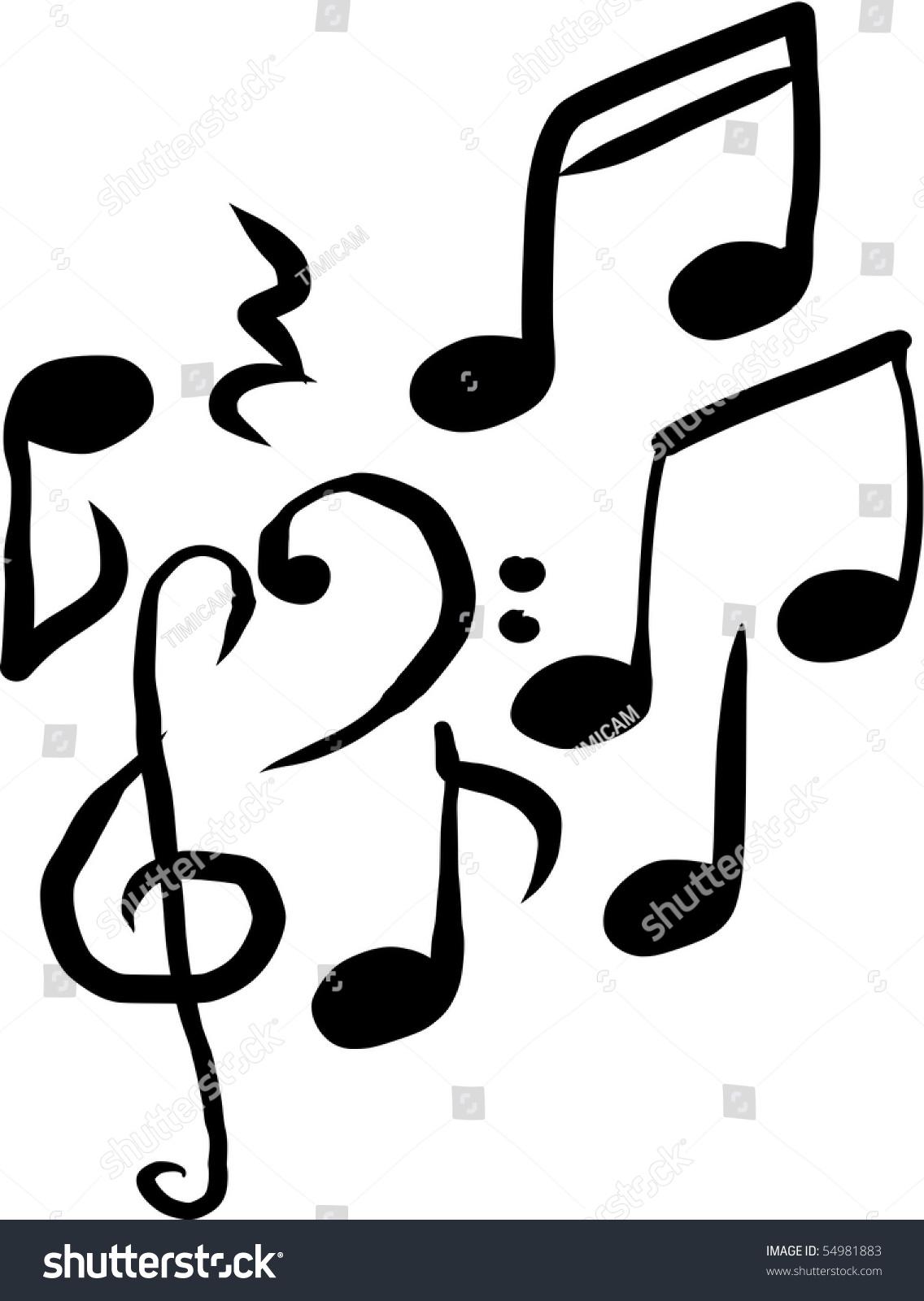 Musical notation symbols vector stock vector 54981883 shutterstock musical notation symbols vector biocorpaavc