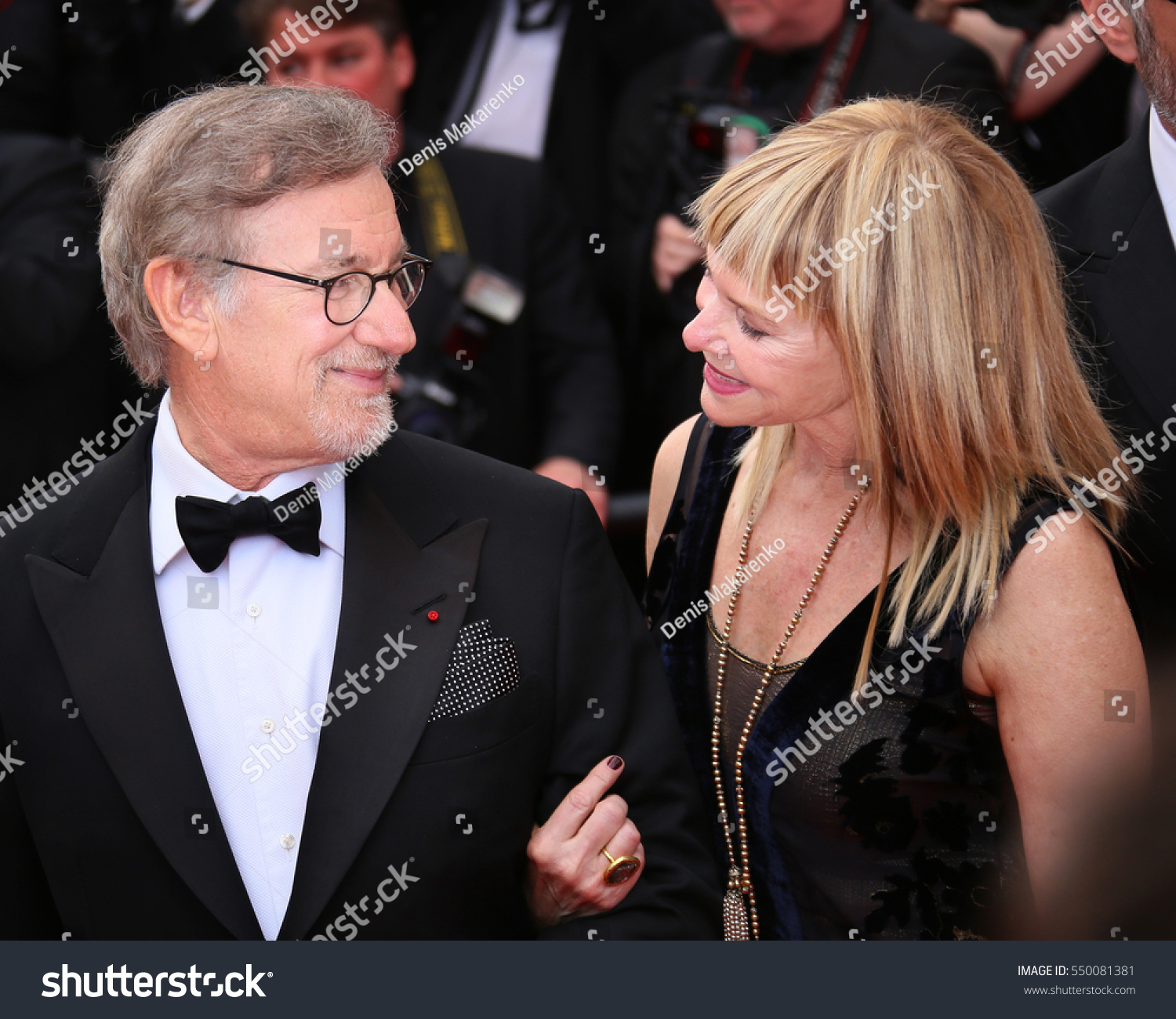 Kate Capshaw Steven Spielberg Attend He Stock Photo Edit Now