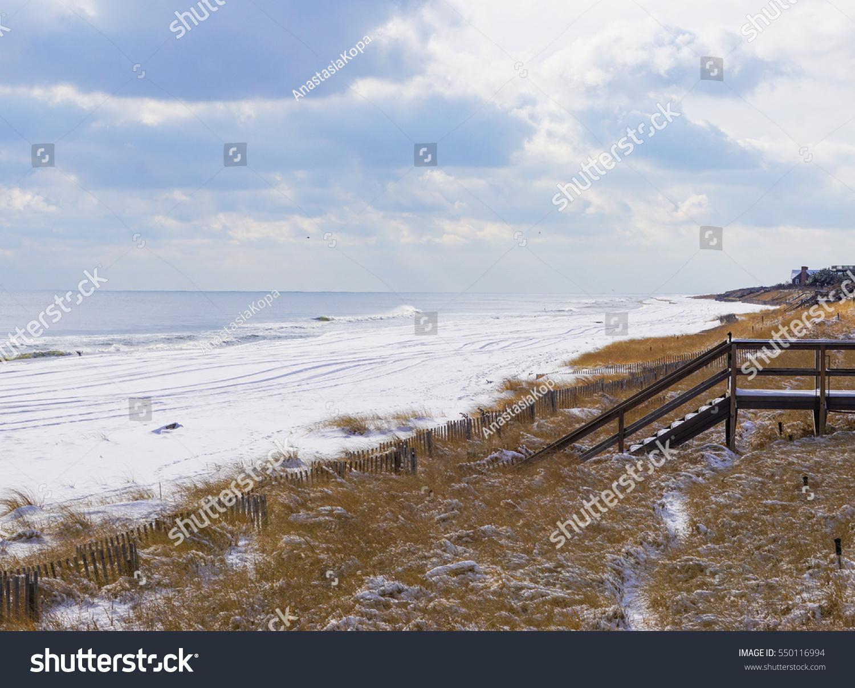 Atlantic Ocean Waves On Beach Hamptons Stock Photo Edit Now