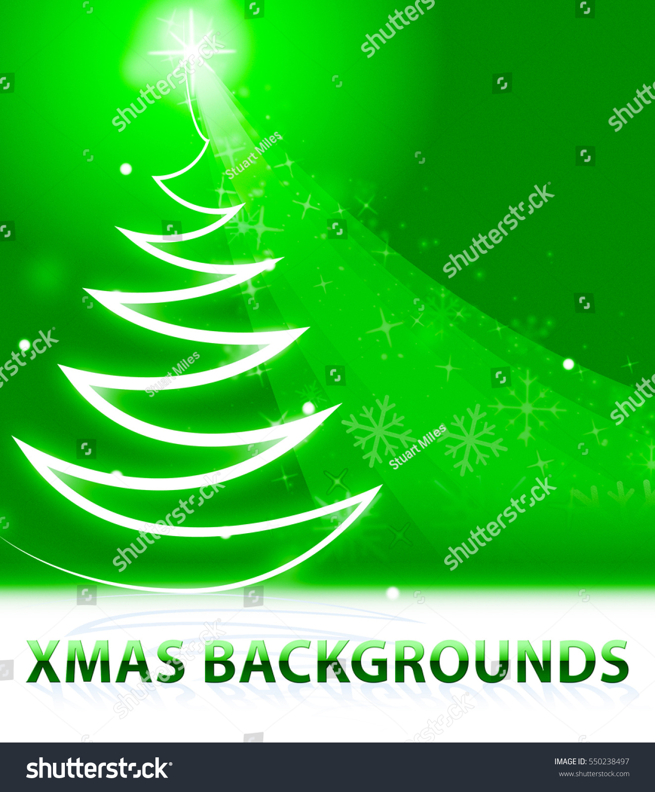 xmas backgrounds snow scene shows xmas stock illustration 550238497