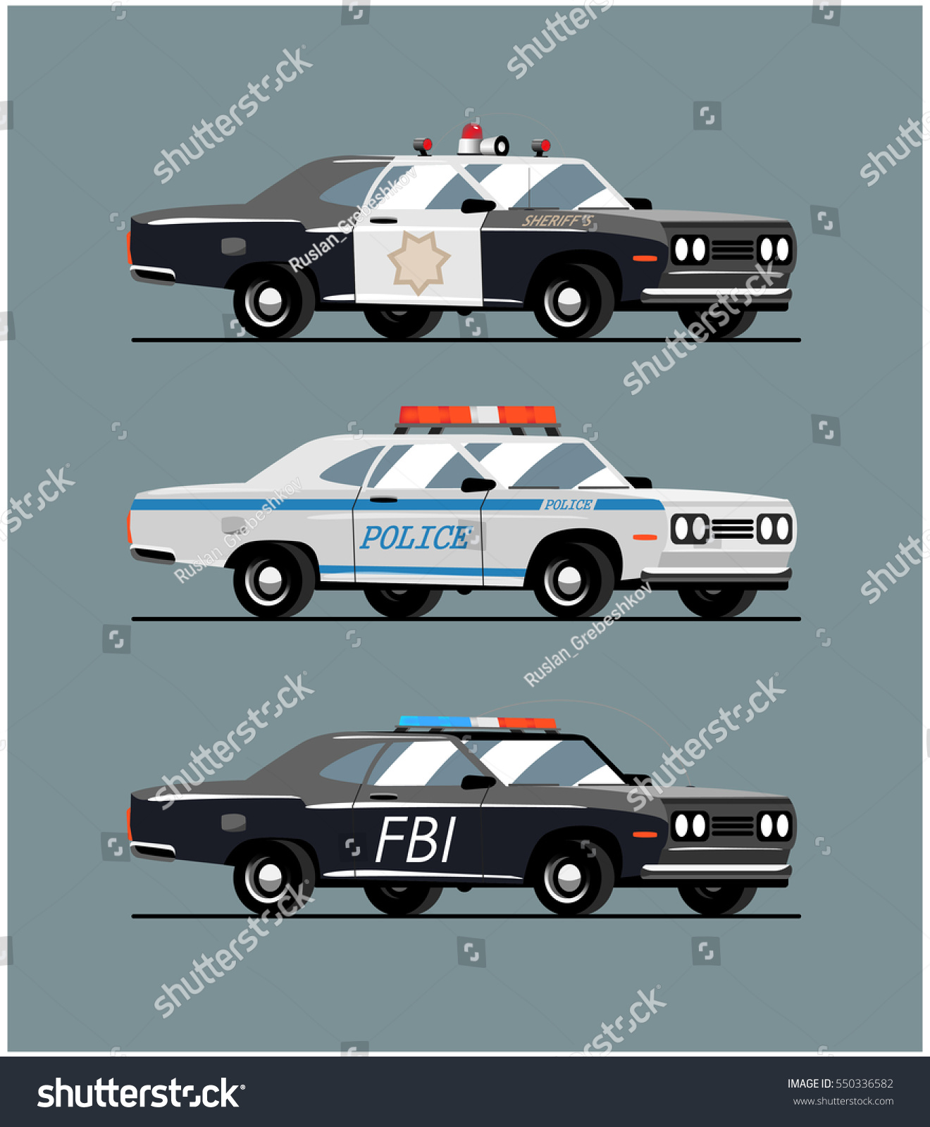 Types Of Police Cars