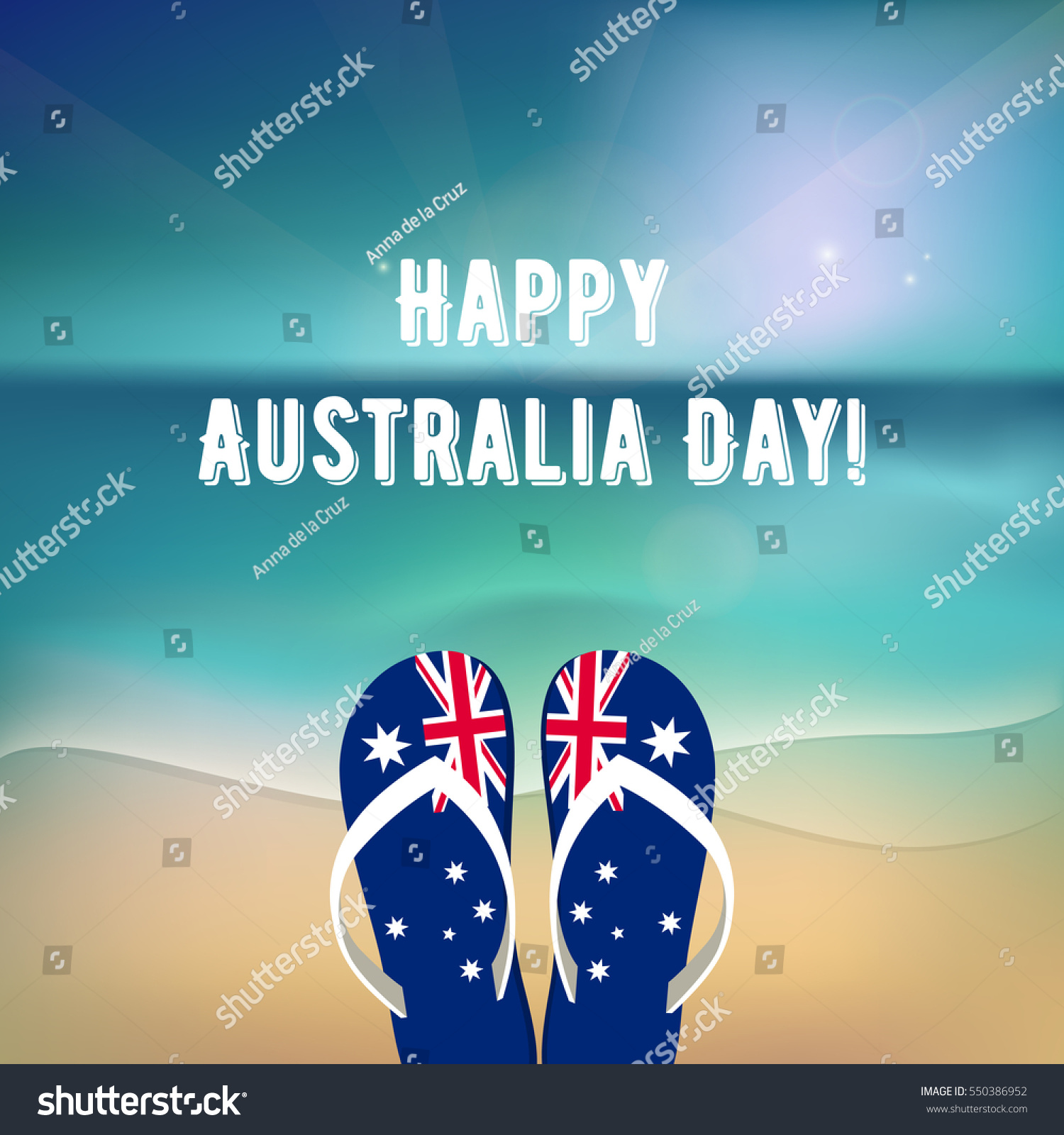 Happy australia day 26 january national stock vector 2018 happy australia day 26 january national australia holiday festival independence day m4hsunfo
