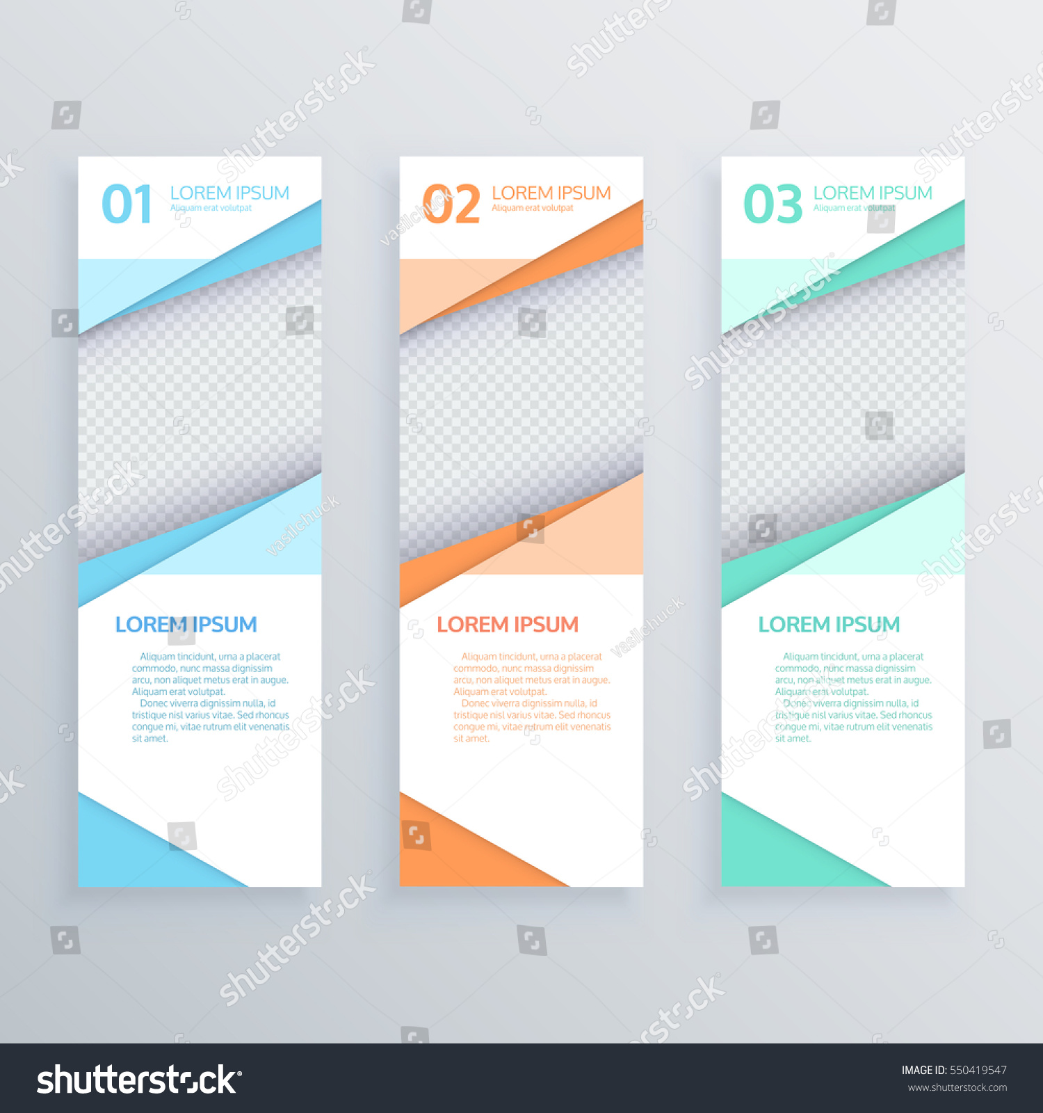 Design clean banners templategraphic website layout stock vector design clean banners templategraphic or website layout vector maxwellsz