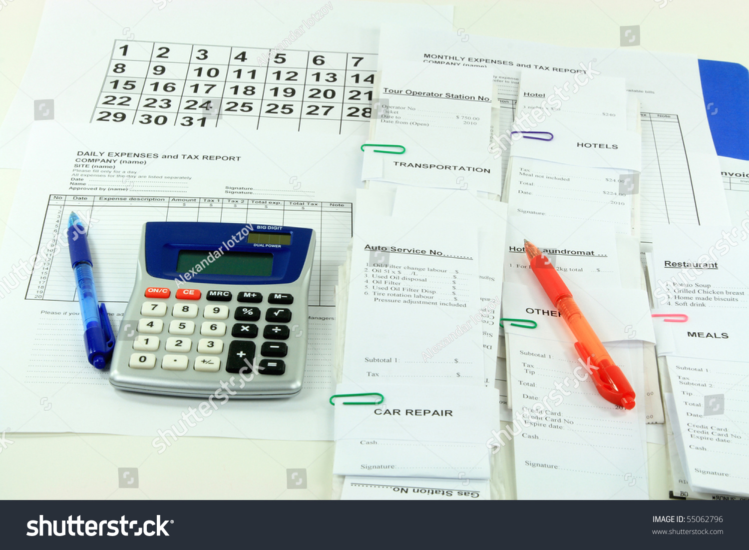 electronic expense reports