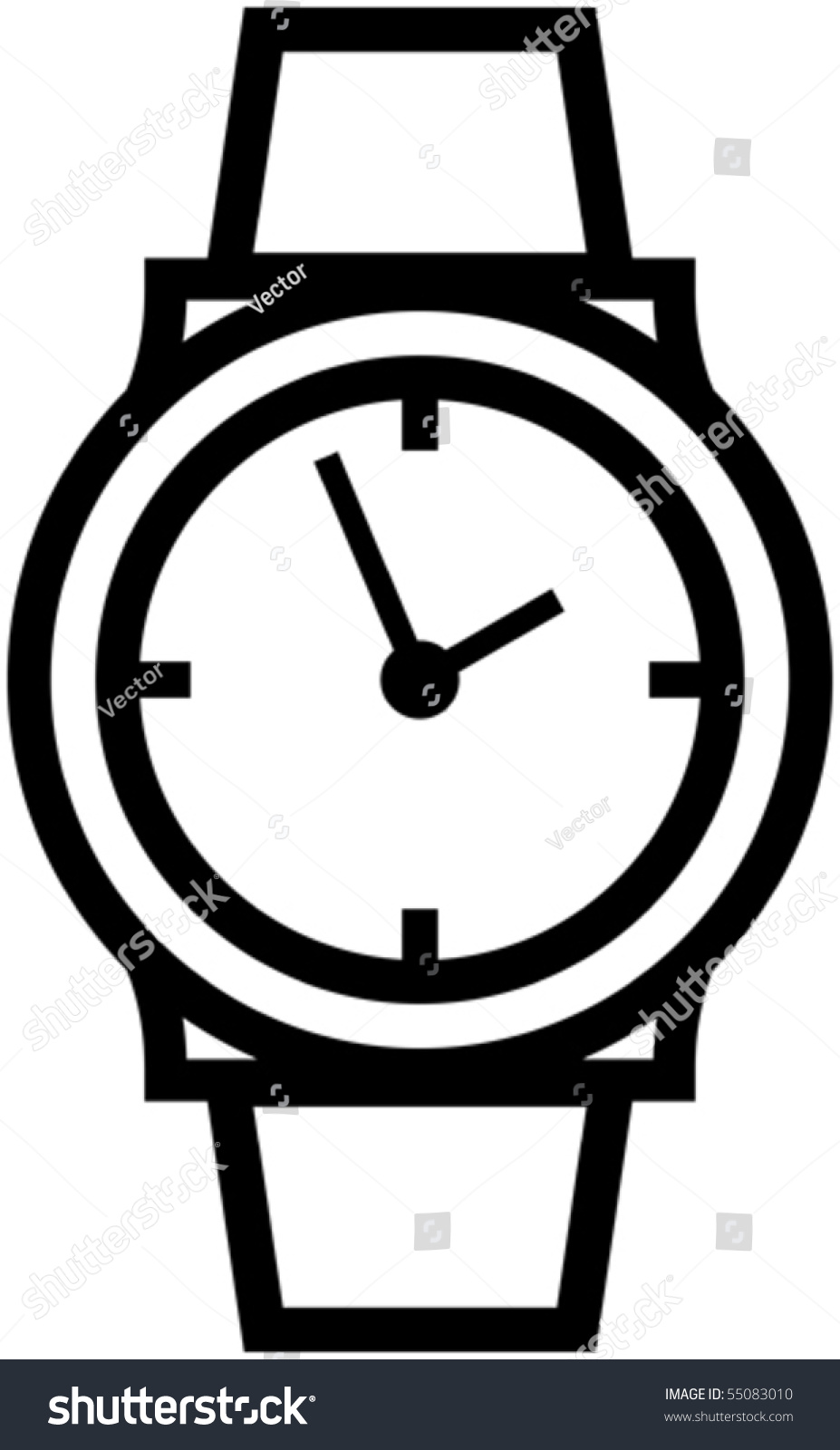 watch vector illustration stock vector royalty free 55083010 rh shutterstock com watch victorious watch victorious