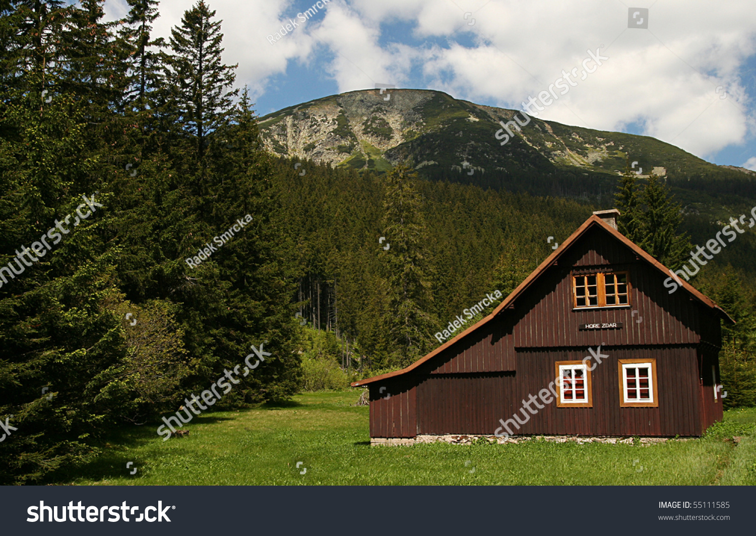 Mountain cottage - Mountains & Nature Background Wallpapers on ...