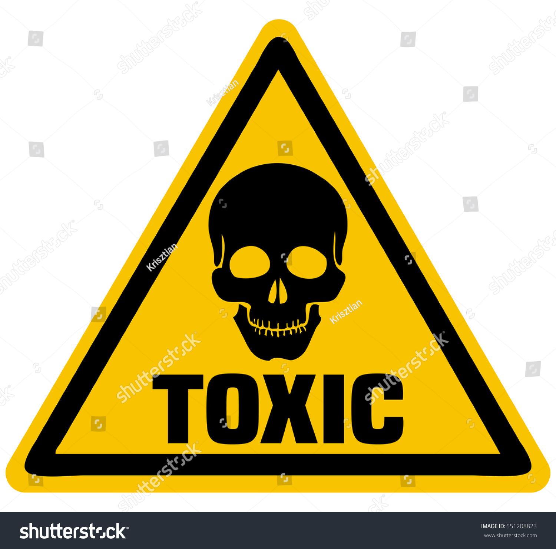 toxic sign and skulls - photo #17